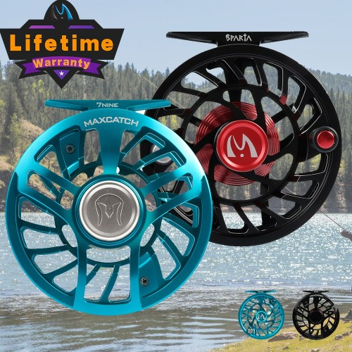 Sparta Ultra-Smooth Sealed Drag Fly Fishing Reel